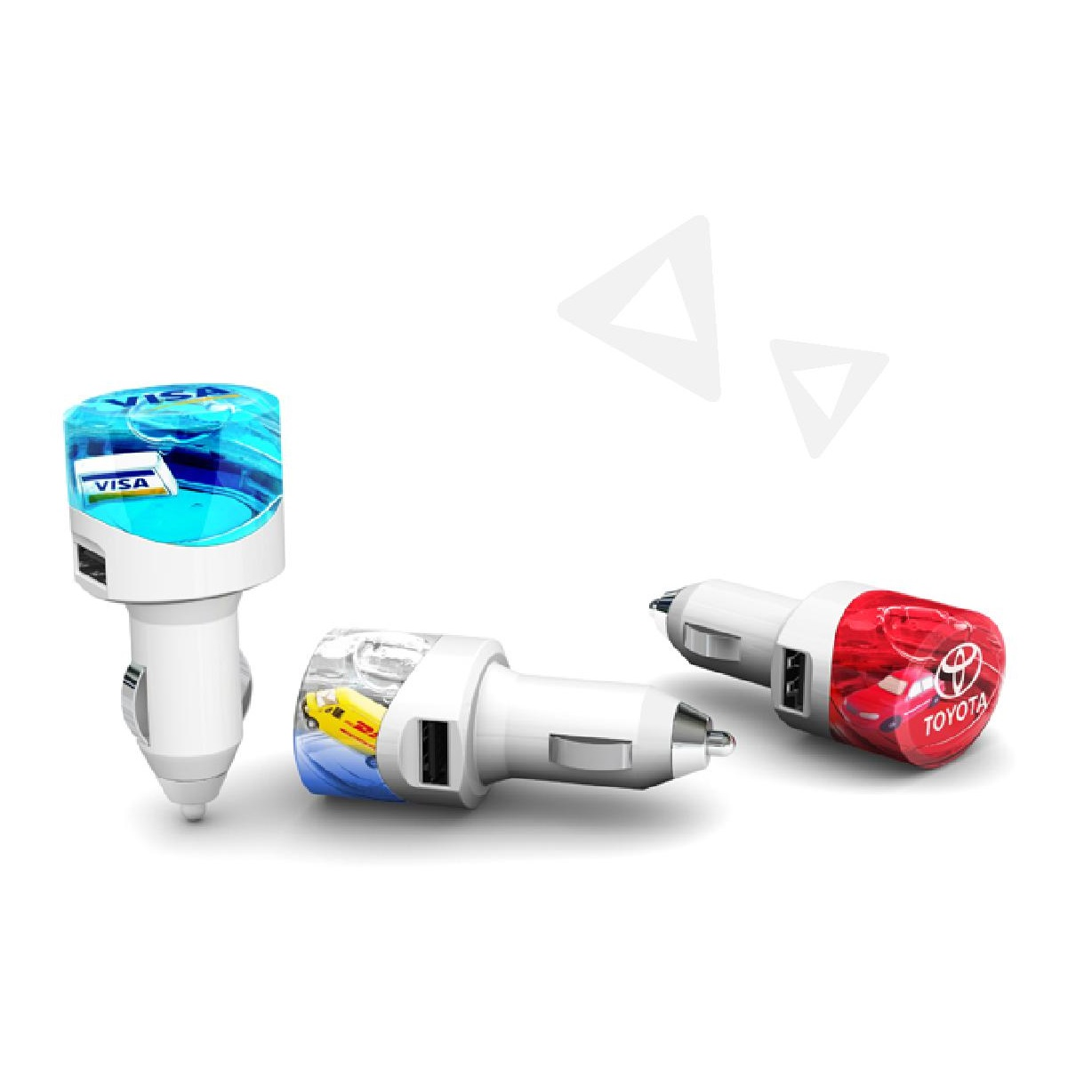 Usb car charger giveaways for 1st